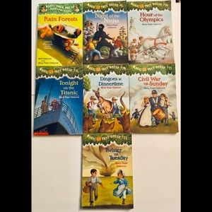 Other - Magic Tree House 7 Kids Books by Mary Pope Osborne